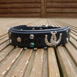 Apollo Collars Lucky Horseshoe Dog Collar