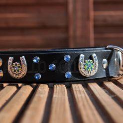 Apollo Collars The Rhinestone Horseshoe Dog Collar