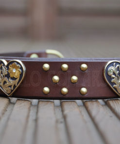 Apollo Collars The Luna Heart Dog Collar