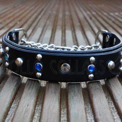 Apollo Collars Studded Sky Dog Collar