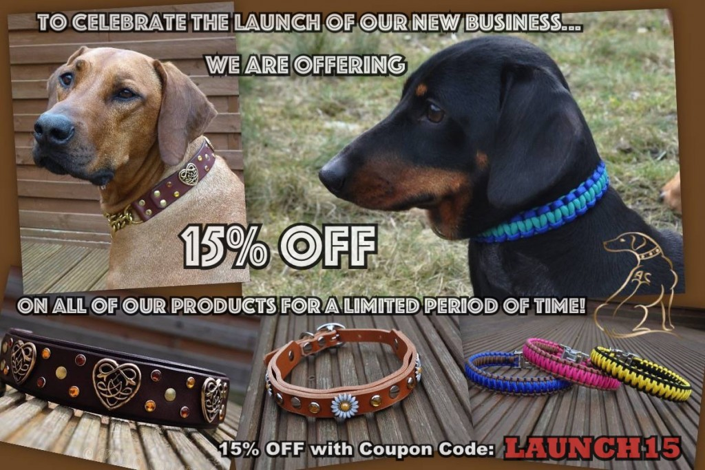 Apollo Collars Launch 15%