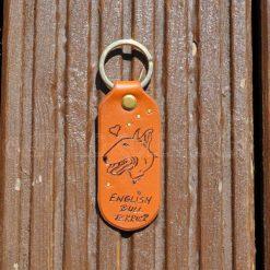 English Bull Terrier - Key Fob